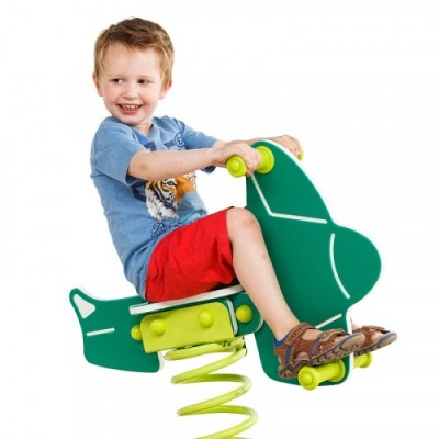 Детска люлка пружина - самолет