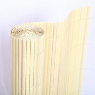 PVC покривало за огради, балкони и тераси модел Бамбук - двойни ламели H=1.0 x L=3.0 m