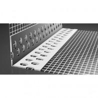 Ъгъл PVC с мрежа, Дължина 2.50м - 100бр.