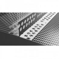 Likov Ъгъл PVC с мрежа, Променлив, Размери 10x10см - Ролка 25м