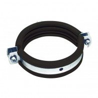 """Метална скоба с EPDM гума 47-51мм / цол 1.5"""", Свързваща гайка M8"""