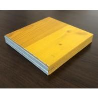 Трислойни Kофражни платна с метален кант 2500/500/21мм (цената е за кв.м)