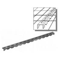 Линеен фиксатор за плоча 15мм x 100 метра в пачка (цената е за метър)