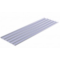 Щрех метал / 60 x 250 cm, ribs H = 8 mm. Цената е за кв.м