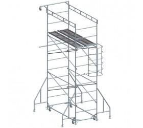 Подвижно безболтово скеле, метално 900 / 2000мм, Раб. височина 7м