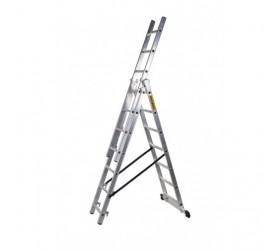 Трираменна професионална стълба 3x12 Drabest