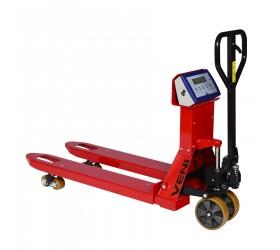 Транспалетна количка VI HPT с везна и с везна и принтер